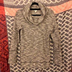 Gray Cowl Neck Sweatshirt from Target